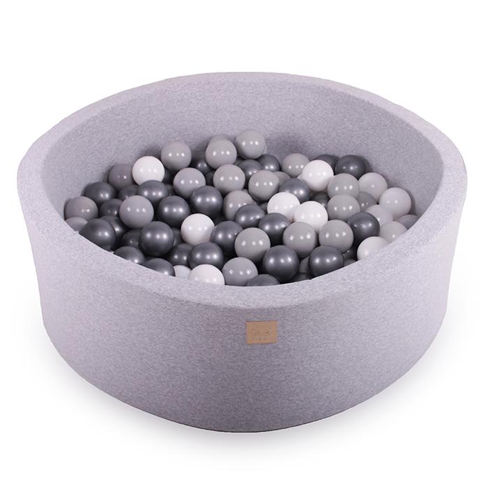 Meow Baby Light Grey Ball Pit 30 cm